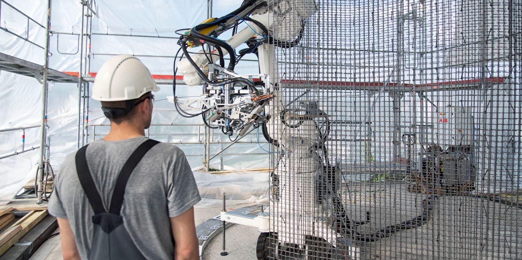 Az ABB Robotikai üzletága az építőiparnak is segít - NEW technology